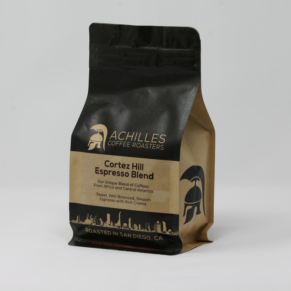 Espresso Roast Coffee ~ Buy coffee online espresso blend achilles