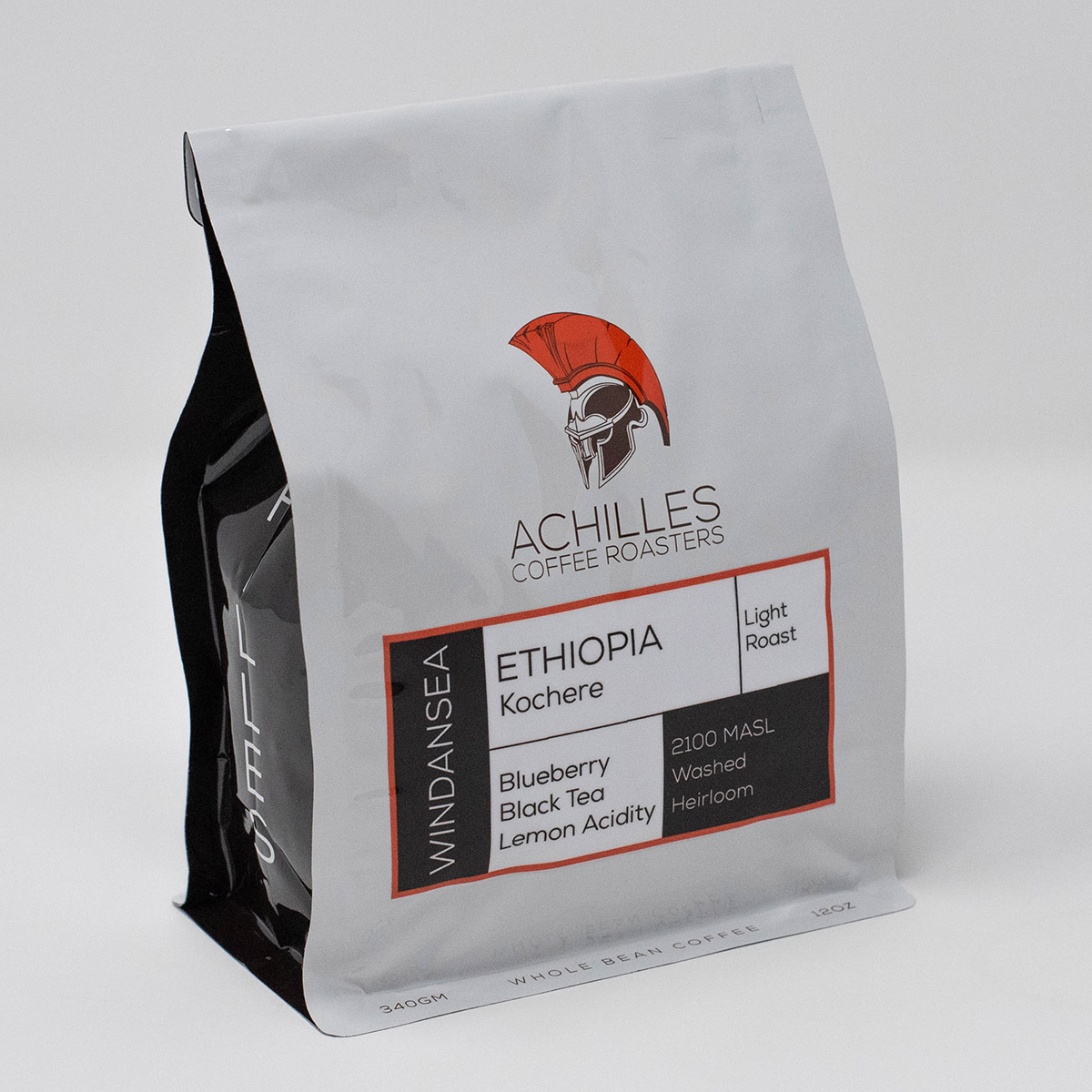 Light Roast Whole Bean Coffee from Kochere Ethiopia