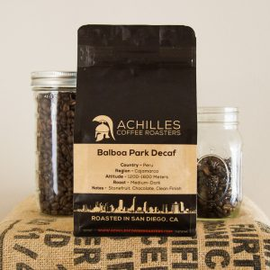 Achilles-Coffee-Roasters-San-Diego-Buy-Coffee-Balboa-Park-Decaf