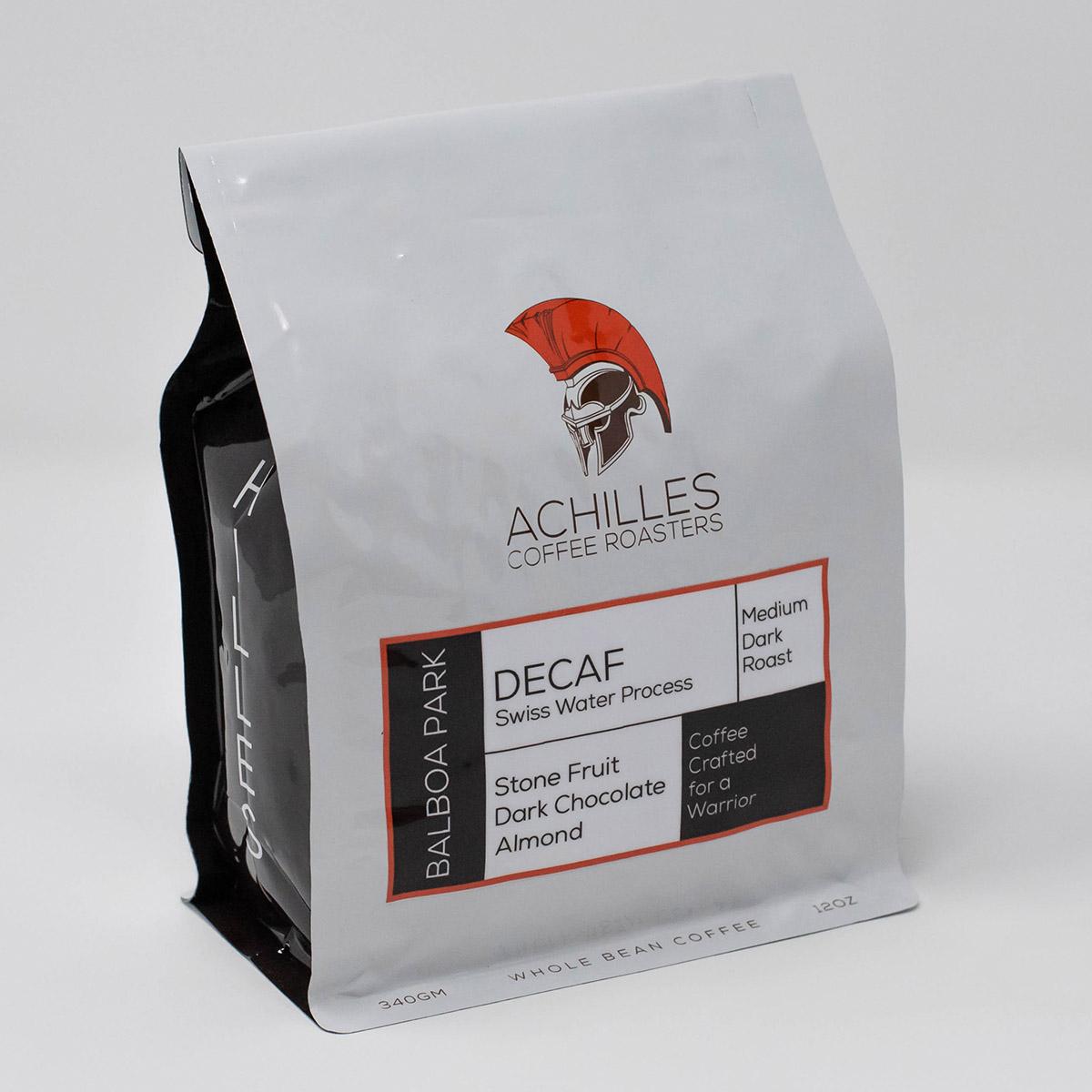 Dark Roast Whole Bean Decaf Coffee from Peru