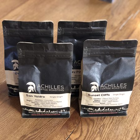 Coffee Subscriptions from Achilles Coffee 4 Bag Program