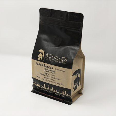 Kenya Single Origin Coffee Achilles Coffee Roasters San Diego
