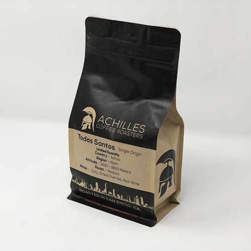 Kenya Single Origin Coffee Achilles Coffee Roasters San Diego