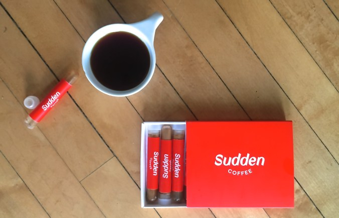 Sudden Coffee Attracts Venture Capital Attention